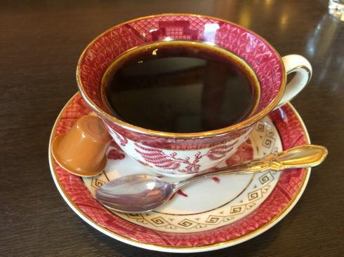 福山市 スローライフ喫茶店 ブレンドコーヒー