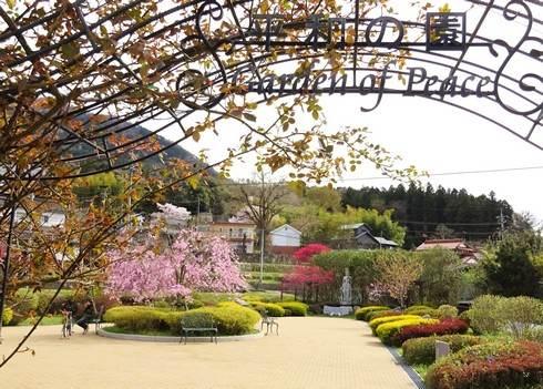 広島市安佐北区の小さなガーデンに込めた、平和への想い