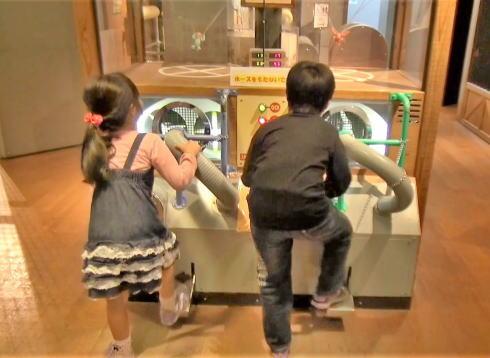 広島市こども文化科学館 1階の様子