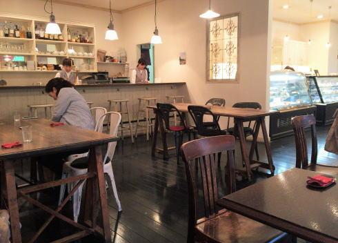 ムッシムパネン 店内カフェコーナー