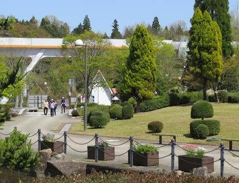 広島・花みどり公園、綺麗に整備された園内