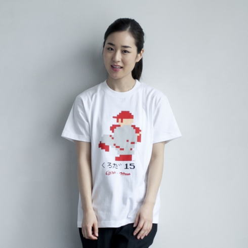 カープ×ファミスタコラボグッズ 黒田Tシャツ