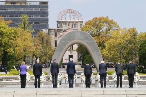G7広島外相会合の際の写真
