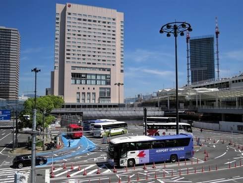 広島駅北口の陸橋・ペデストリアンデッキ