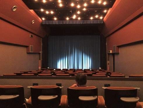 シネツイン 劇場内の様子