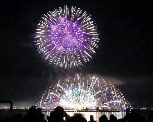 宮島水中花火大会 2016