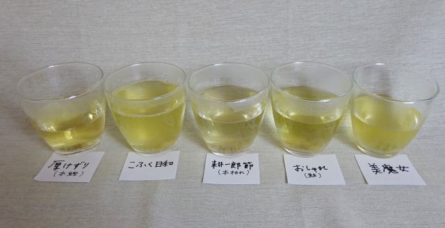 古江のリチャード 削り節比較