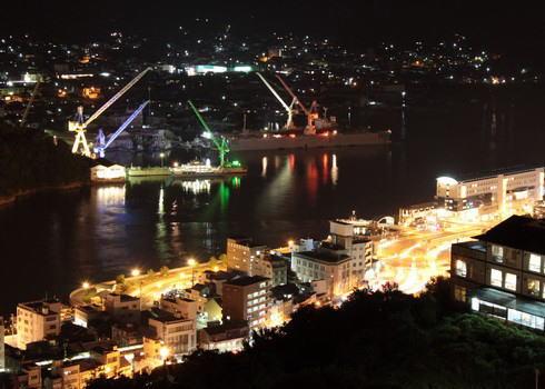 千光寺公園からの夜景 写真2
