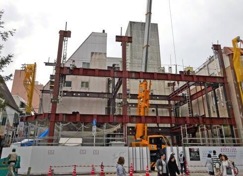 広島ゼロゲート2 工事中の様子