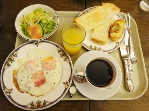 ルーエぶらじる、モーニングサービス発祥の広島老舗喫茶店