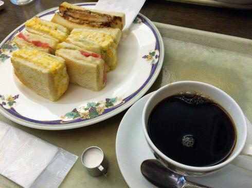 広島 ルーエぶらじる サンドモーニング