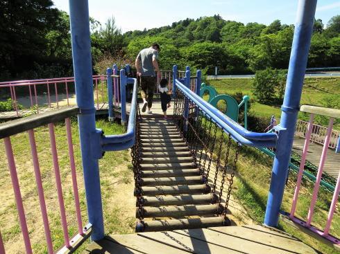 福山ファミリーパーク 複合遊具の写真2