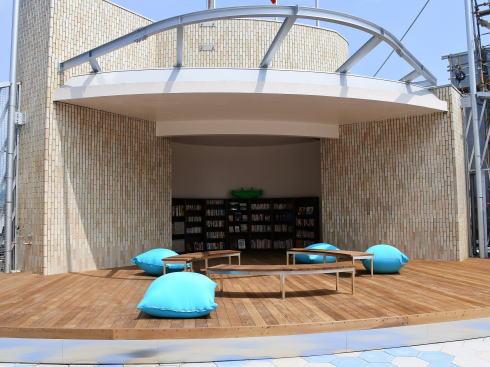 福屋八丁堀本店 屋上リニューアル、10階レストランも「空と緑」感じる空間へ