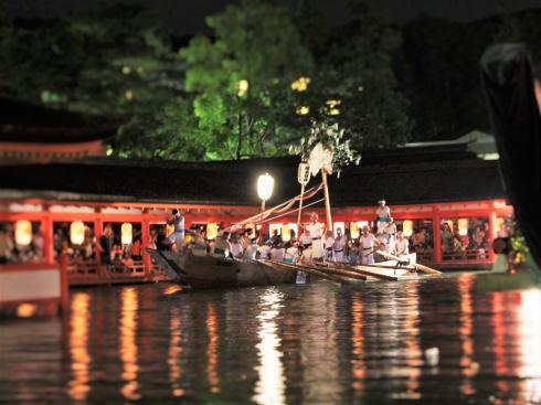 宮島管絃祭 クライマックス