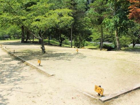 河佐峡 キャンプ場
