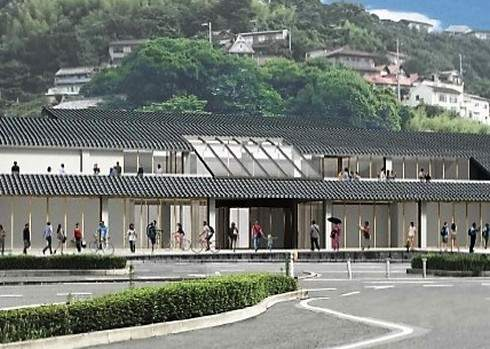 尾道駅 建て替え後のイメージ2