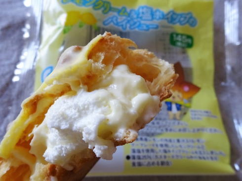 ローソン レモンクリーム&塩ホイップのパイシュー 画像2