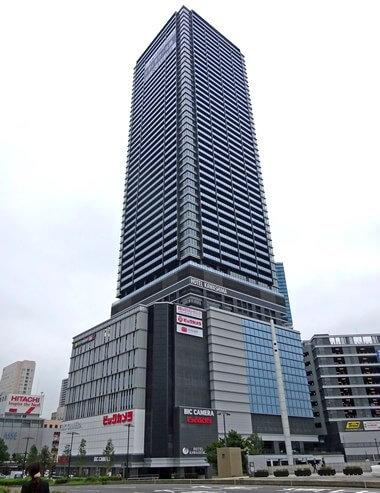ビックカメラ広島駅前店(ビッグフロント広島のビルに入居)
