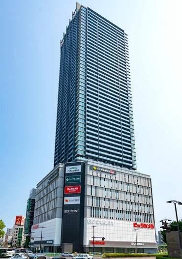 BIG FRONTひろしまにオープンする、ビックカメラ広島駅前店