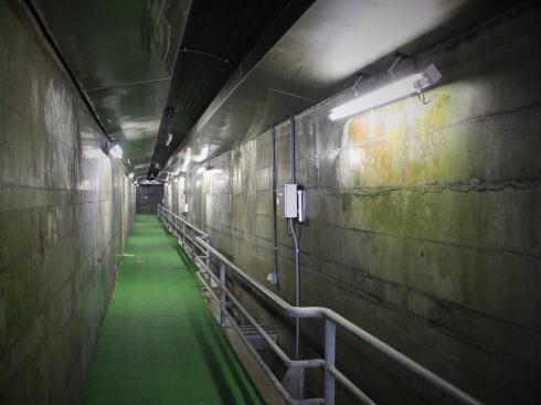 八田原ダム 開放されている通路2