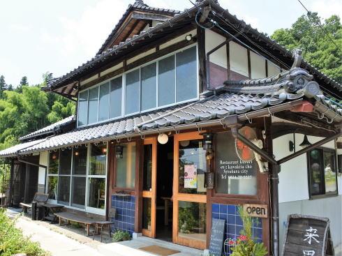 来里(くるり)、庄原 田舎レストランでのんびりイタリアン