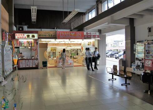 宮島口駅改修前の写真