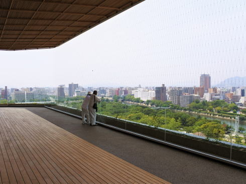 おりづるタワー 屋上からの景色5