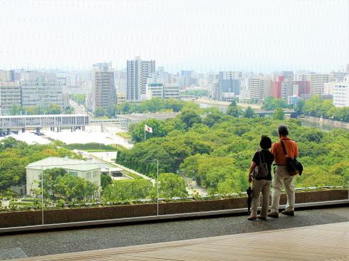 おりづるタワー 屋上からの景色6