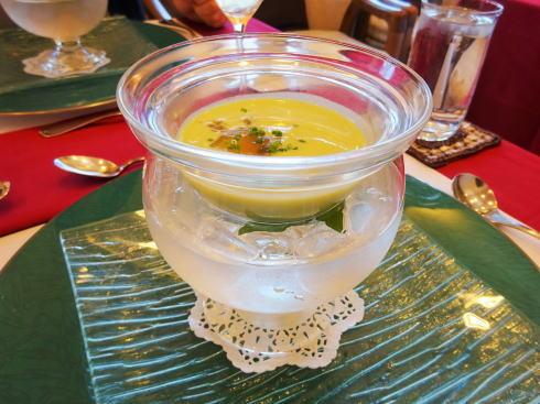 広島市毘沙門台の プチマリエ コース料理一例2