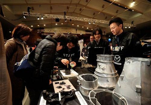 マツダが富士スピードウェイでイベント開催