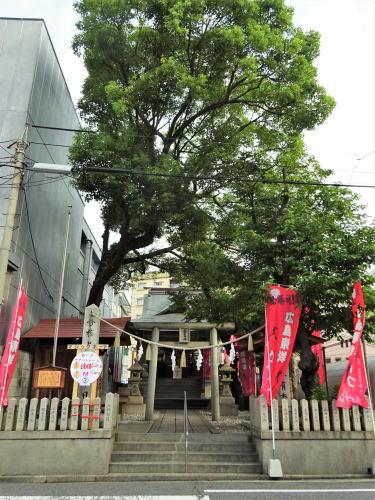 カープ必勝祈願 広島の愛宕神社の写真