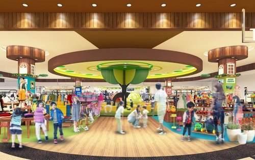 イオンモール広島府中新棟 11月オープン、フォーエバー21・北欧雑貨など新店82店舗