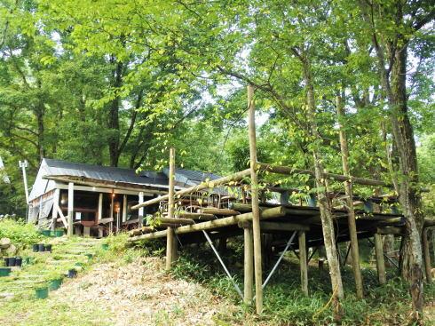 ファームノラ、北広島・森の中の手作りレストラン