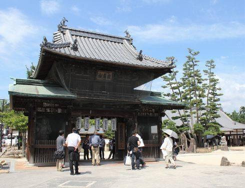 大願寺の門