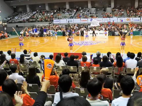 広島ドラゴンフライズ 試合風景4