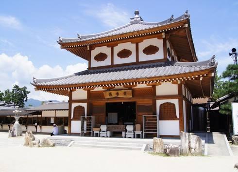 宮島・大願寺の護摩堂