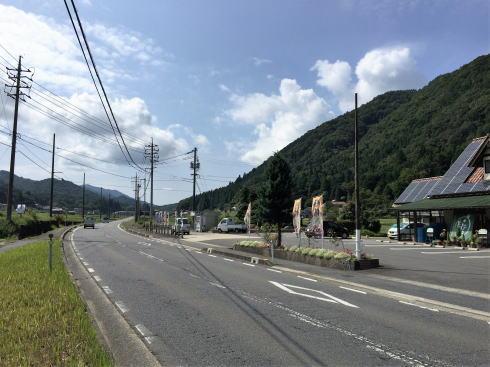 北広島 へんぽこ茶屋 周辺道路