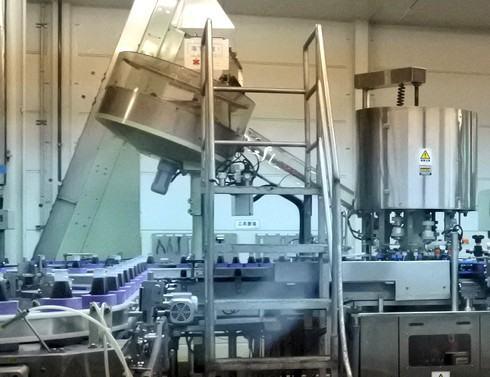 オタフクソース 工場見学の製造ライン2