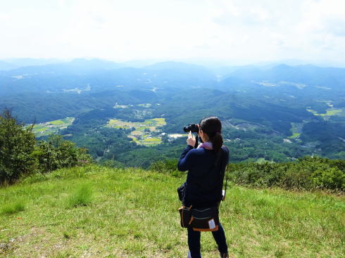 龍頭山、15分プチハイキングで北広島の景色堪能