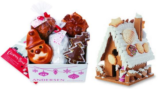 パンのクリスマスギフト、広島アンデルセンから可愛いラインナップ