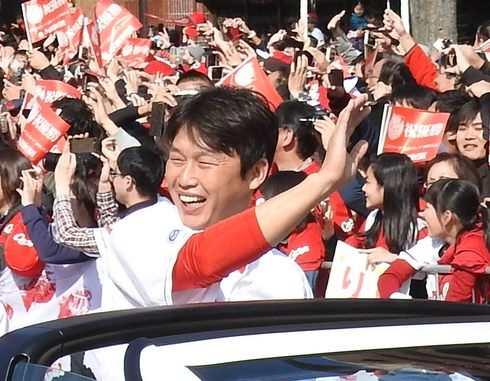 新井・菊池・鈴木選手のディナートークショー、ANAクラウンプラザホテル広島で