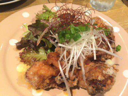 福山市 コージーカフェグレイス 鶏のから揚げ