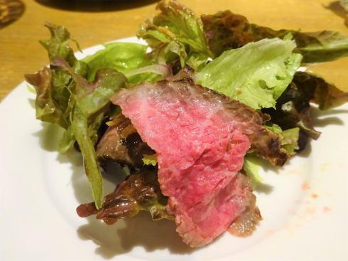 福山市 コージーカフェグレイス ローストビーフサラダ2