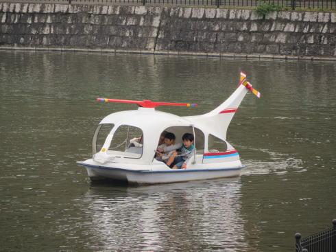 福山市立動物園 池のボート