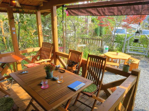 小鳥も遊びに来る世羅のんびりガーデンカフェ、イオ