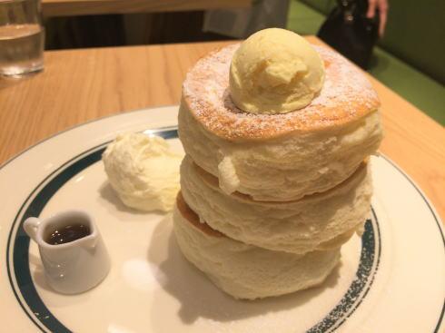 gram(グラム)広島店オープン、ふわプルのプレミアムパンケーキ