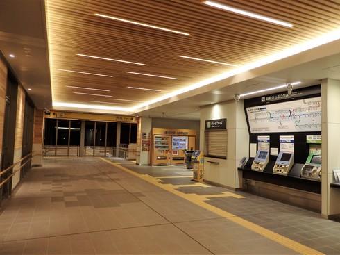 廿日市駅の自由通路