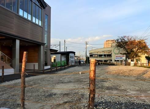 JR廿日市駅、南口のロータリーは無くなった