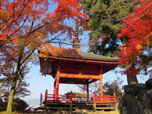 世羅 今高野山 龍華寺の紅葉 画像9
