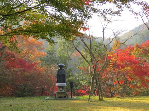 世羅 今高野山 龍華寺の紅葉 画像13